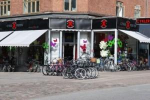 Masser af cykler hos Cykel-X-perten