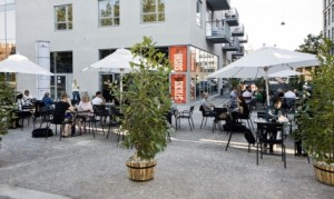 Klimavenlig Sticks'n'Sushi restaurant i Valby