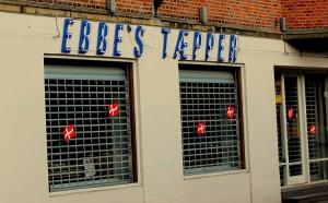 Tæppebutik på Toftegårds Plads