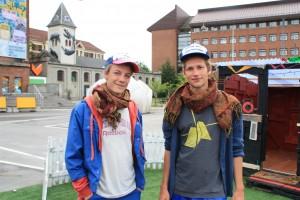 Lasse og Peter flytter ind på Toftegårds Plads